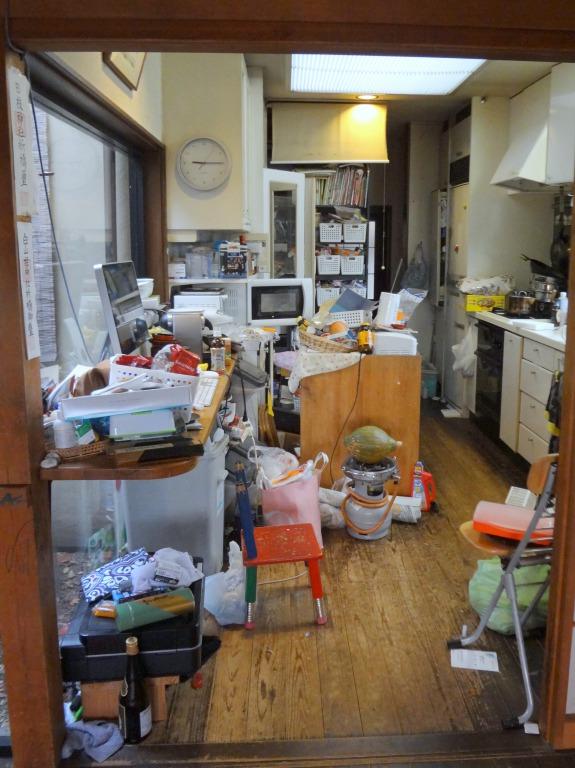 SHIORINAのお片付けサポートキッチンキッチン全体BEFORE画像