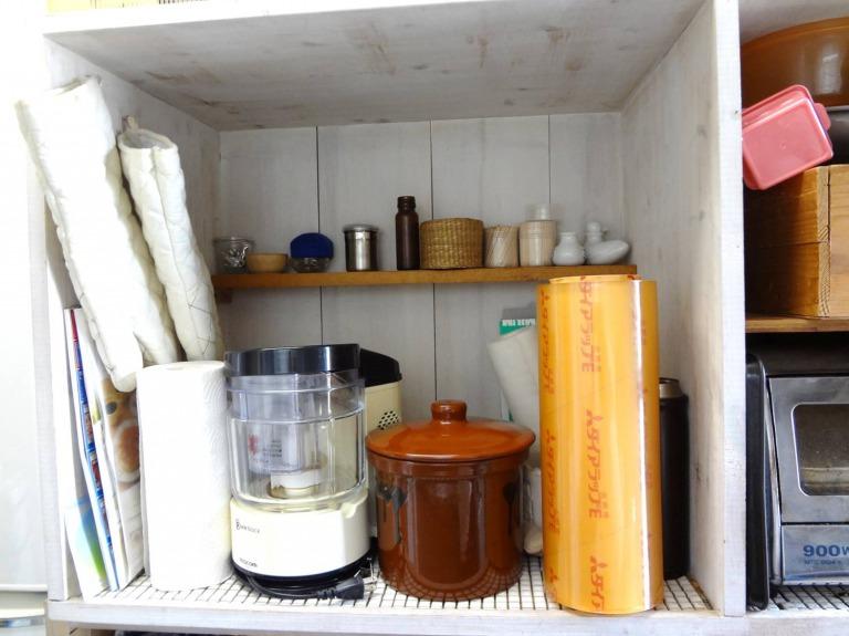 SHIORINAのお片付けサポートキッチンレンジ台BEFORE画像