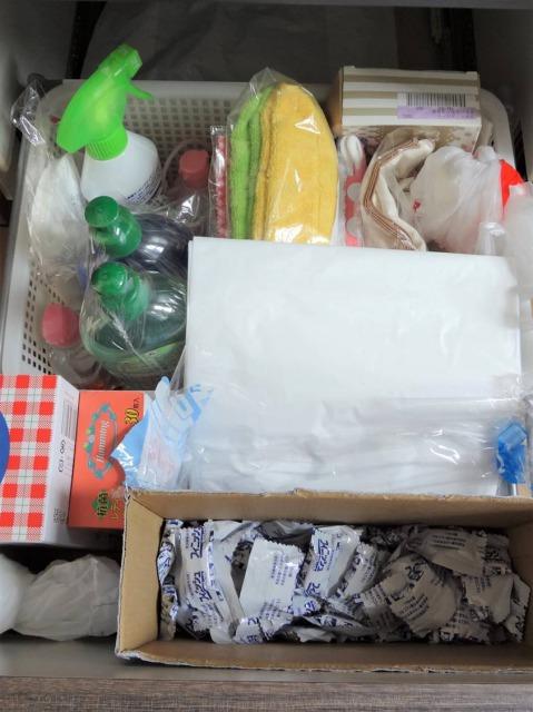 SHIORINAのお片付けサポートキッチン食洗機下BEFORE画像