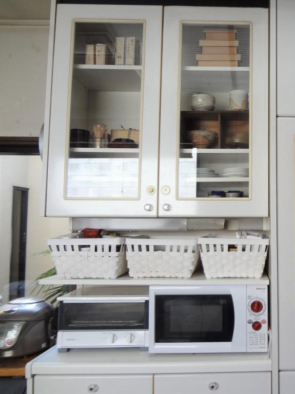 SHIORINAのお片付けサポートキッチン食器棚①AFTER画像