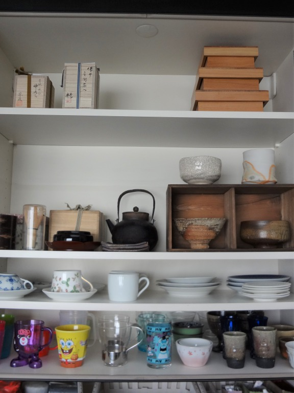 SHIORINAのお片付けサポートキッチン上部・食器棚AFTER画像