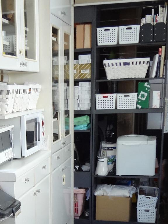 SHIORINAのお片付けサポートキッチン収納棚AFTER画像