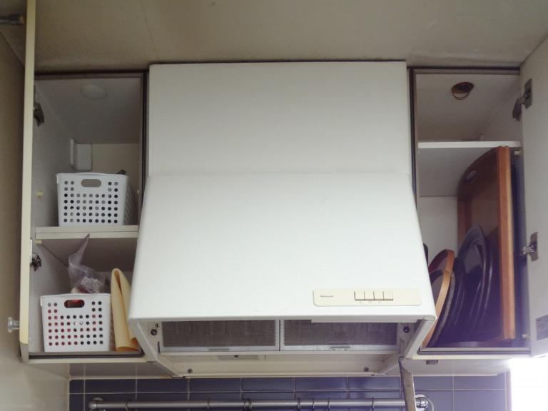 SHIORINAのお片付けサポートキッチンガス台上部AFTER画像