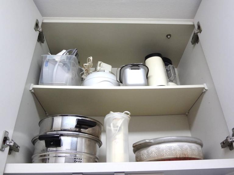 SHIORINAのお片付けサポートキッチン吊戸棚2AFTER画像