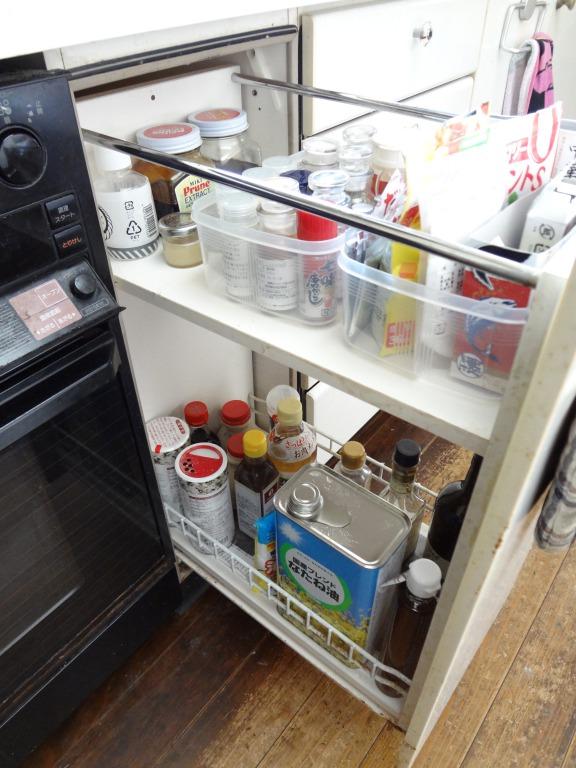 SHIORINAのお片付けサポートキッチン右・引き出しAFTER画像