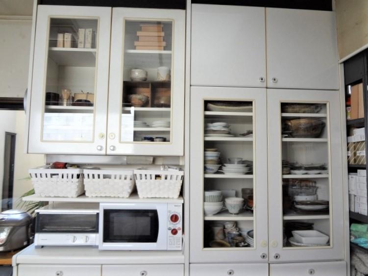 SHIORINAのお片付けサポートキッチン食器棚AFTER画像