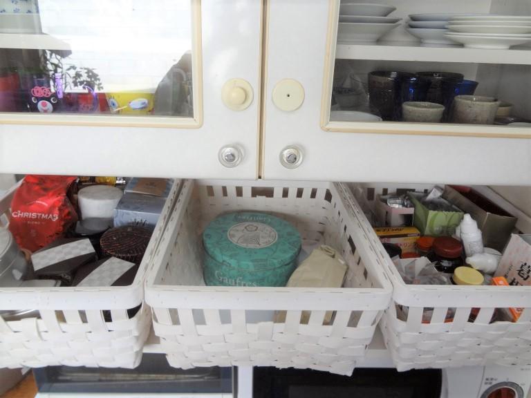 SHIORINAのお片付けサポートキッチンカゴの中AFTER画像