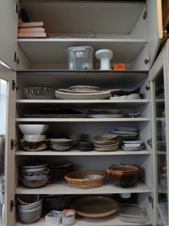 SHIORINAのお片付けサポートキッチン食器棚②BEFORE画像