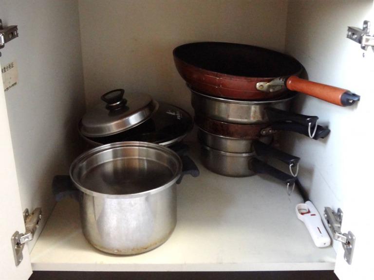 SHIORINAのお片付けサポートキッチンコンロ下1AFTER画像
