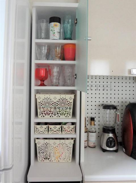 SHIORINAのお片付けサポートキッチン食器棚小AFTER画像
