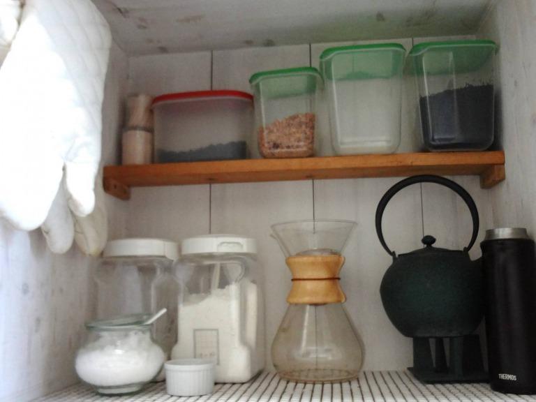 SHIORINAのお片付けサポートキッチンレンジ台AFTER画像