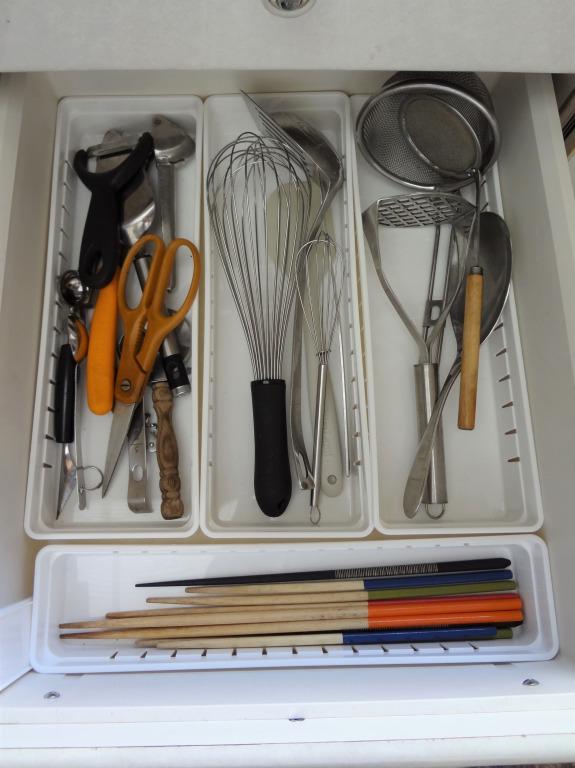 SHIORINAのお片付けサポートキッチン引き出し2段目AFTER画像