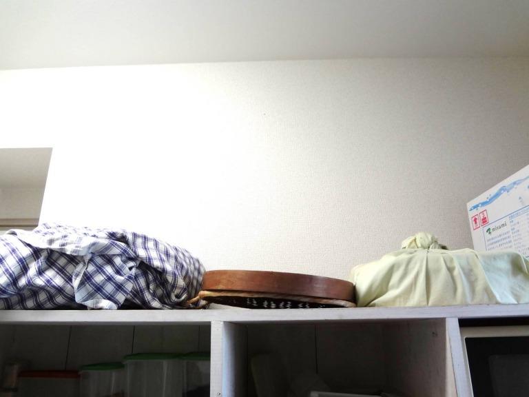 SHIORINAのお片付けサポートキッチンAレンジ台上部FTER画像