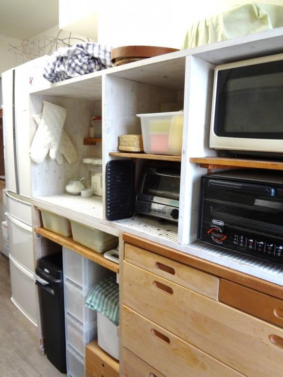 SHIORINAのお片付けサポートキッチンレンジ台側AFTER画像