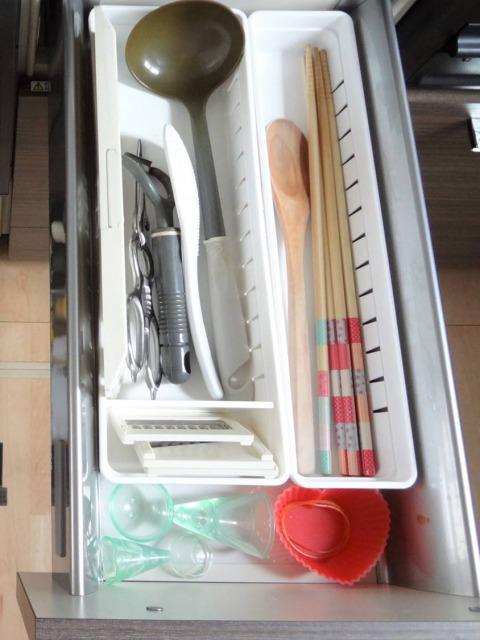 SHIORINAのお片付けサポートキッチン調理台下AFTER画像