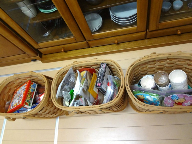 SHIORINAのお片付けサポートキッチンお菓子&お茶類AFTER画像