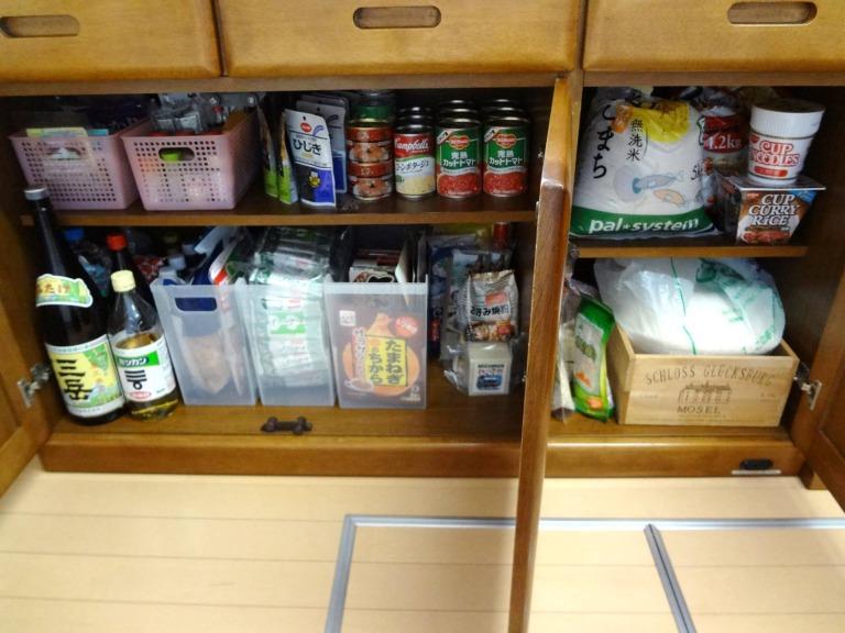 SHIORINAのお片付けサポートキッチン食器棚下段AFTER画像