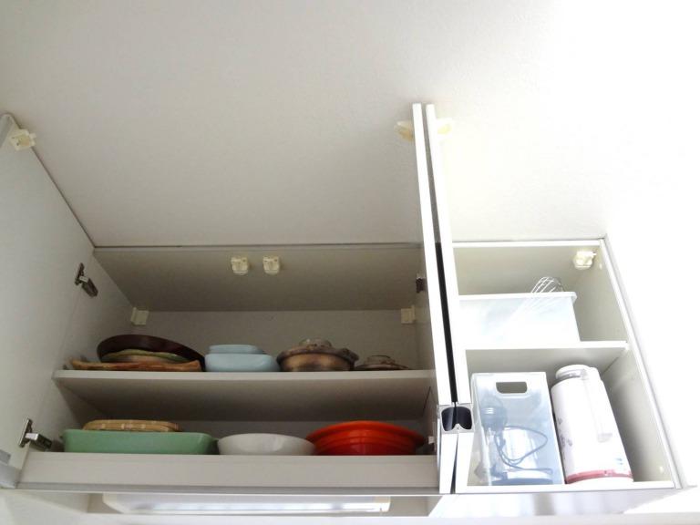SHIORINAのお片付けサポートキッチン吊戸棚AFTER画像